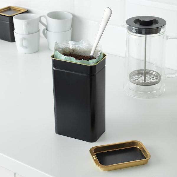 BLOMNING Coffee/tea tin, 11x7x20 cm