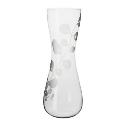 IKEA BLOMSTER vase Mouth blown; each vase has been shaped by a skilled craftsman.