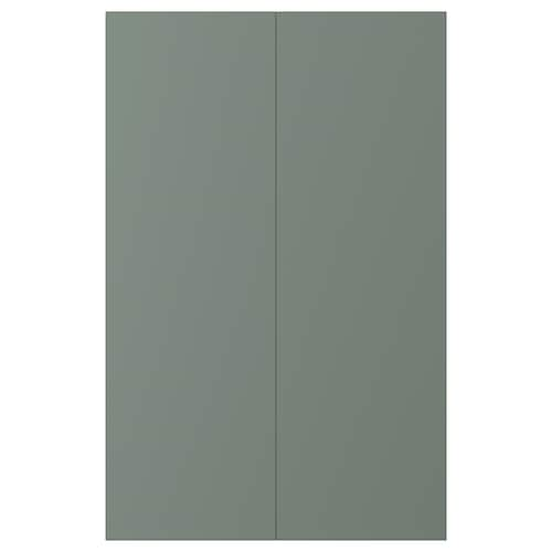 IKEA BODARP 2-p door f corner base cabinet set