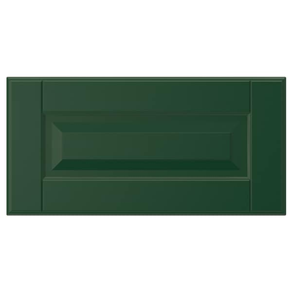 BODBYN Drawer front, dark green, 40x20 cm