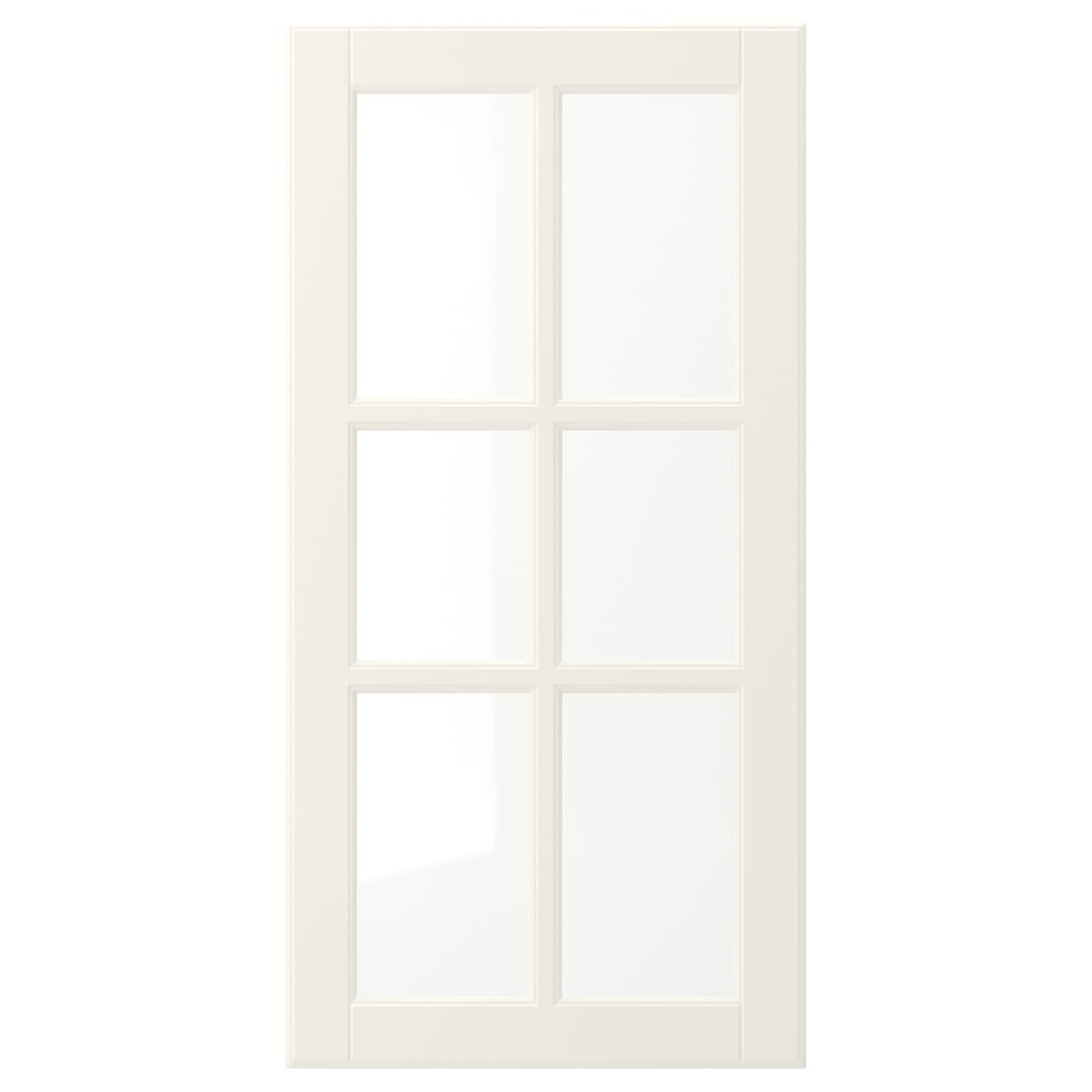 IKEA BODBYN glass door 25 year guarantee. Read about the terms in the guarantee brochure.