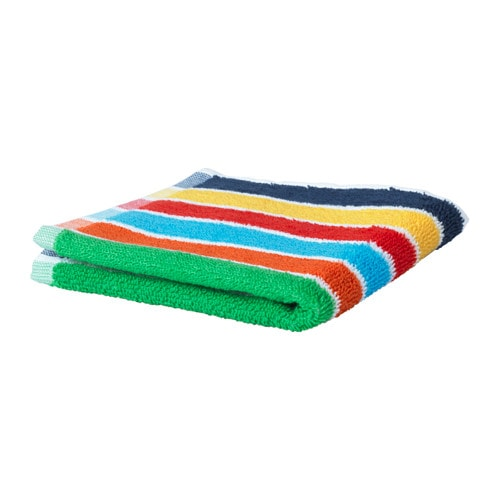 IKEA BOKVIK washcloth The long, fine fibres of combed cotton create a soft and durable towel.