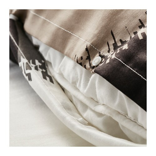 Ikea Aufbewahrung Aus Stoff ~ IKEA BOLLTISTEL quilt cover and 2 pillowcases Concealed press studs