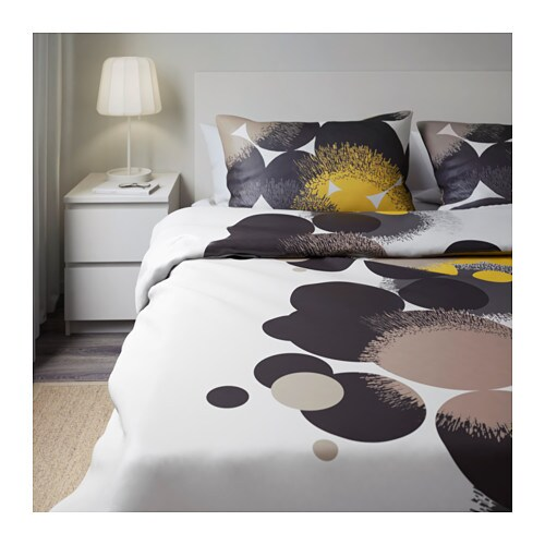 Ikea Aufbewahrung Aus Stoff ~ IKEA BOLLTISTEL quilt cover and 4 pillowcases Concealed press studs