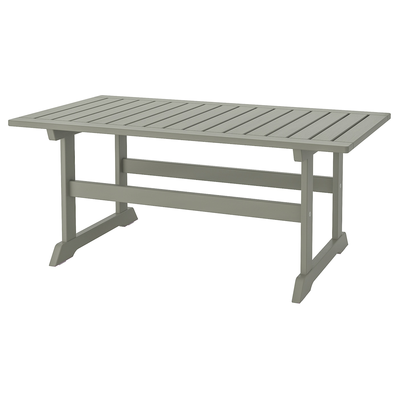BONDHOLMEN Coffee table, outdoor - grey stained - IKEA Ireland