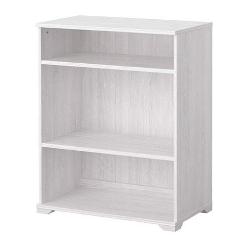 BORGSJÖ Shelf unit IKEA 2 adjustable shelves; adjust spacing according to need.