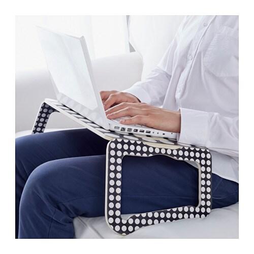br da laptop support black white 42x30 cm ikea. Black Bedroom Furniture Sets. Home Design Ideas