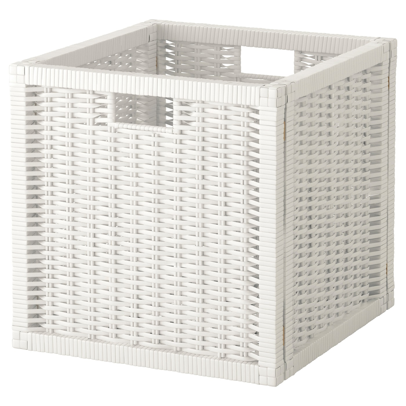 Wicker storage basket home storage baskets melbury rectangular wicker - Perfect Ikea Brans Basket Perfect For Newspapers Photos Or Other Memorabilia With Storage Baskets