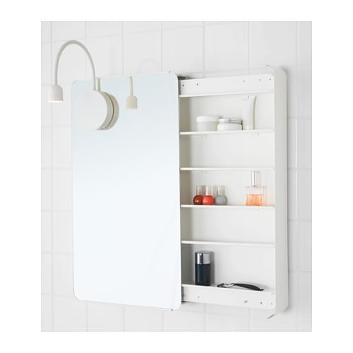 mirrored bathroom cabinets ikea brickan mirror cabinet white 40x73 cm ikea 23388