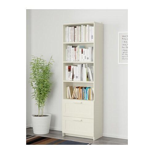 Brimnes bookcase white 60x190 cm ikea - Ikea bibliotheque modulable ...