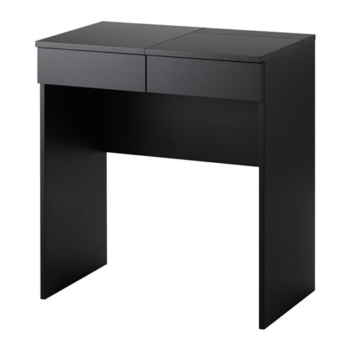 Ikea Alex Storage Unit Black ~ Dressing table BRIMNES Black