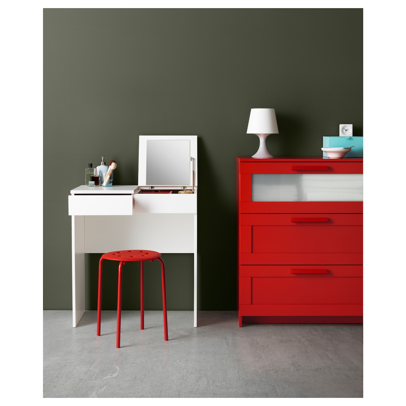 brimnes dressing table white 70 x 42 cm ikea. Black Bedroom Furniture Sets. Home Design Ideas