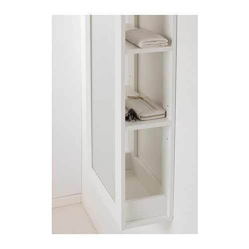 BRIMNES Mirror with storage White IKEA