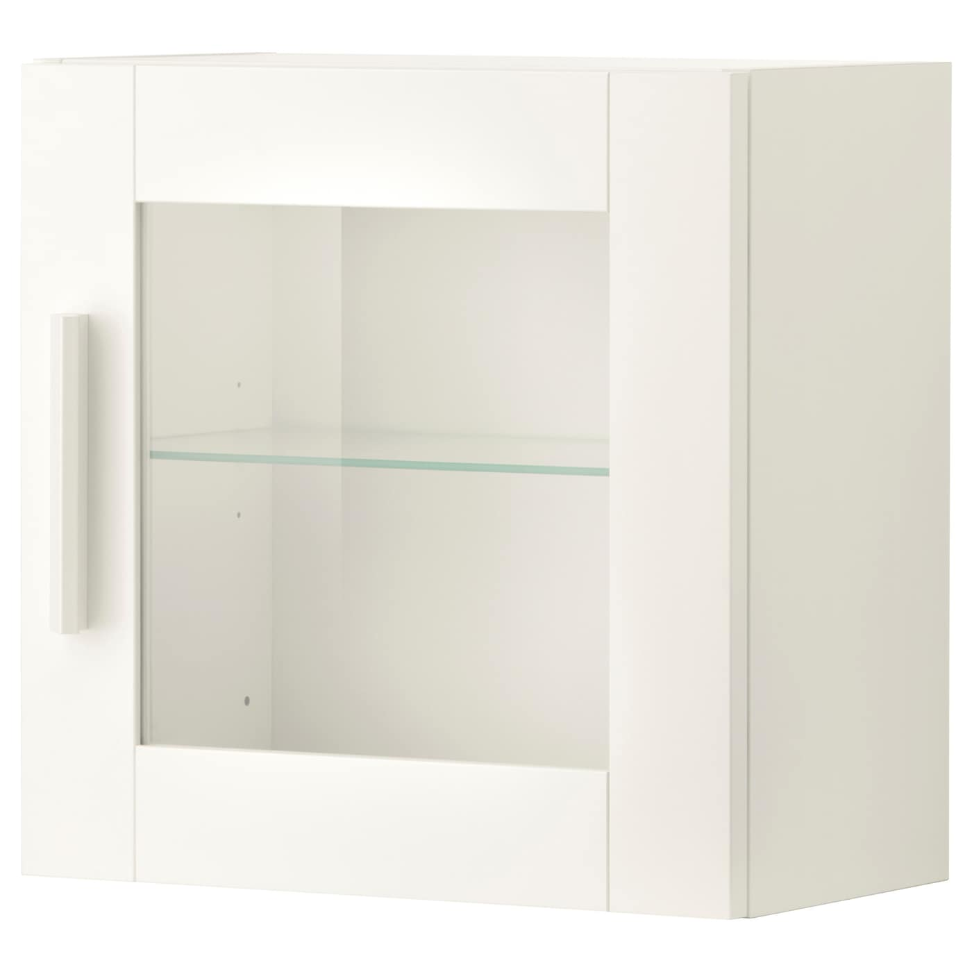 IKEA BRIMNES wall cabinet with glass door