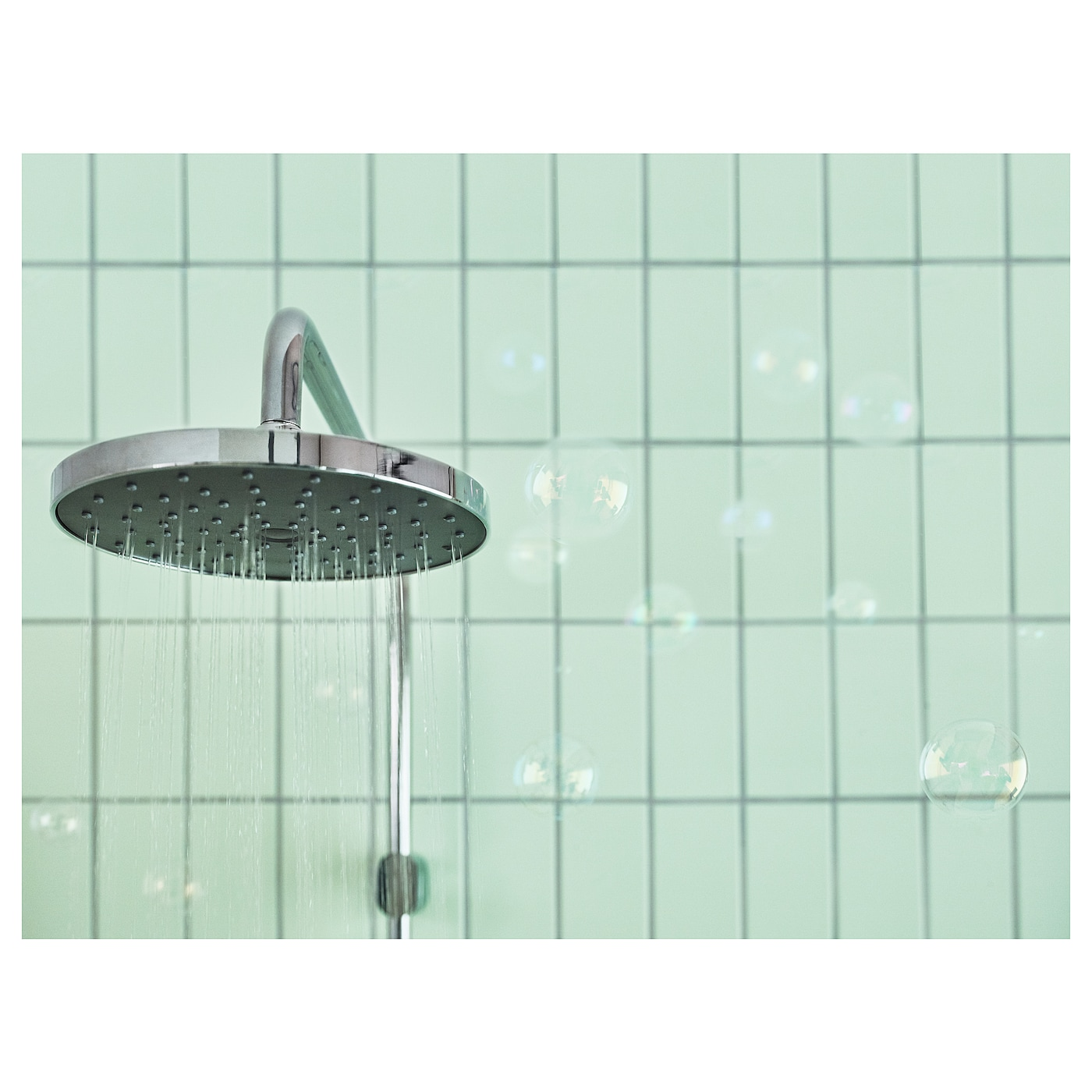 IKEA BROGRUND head/handshower kit with diverter