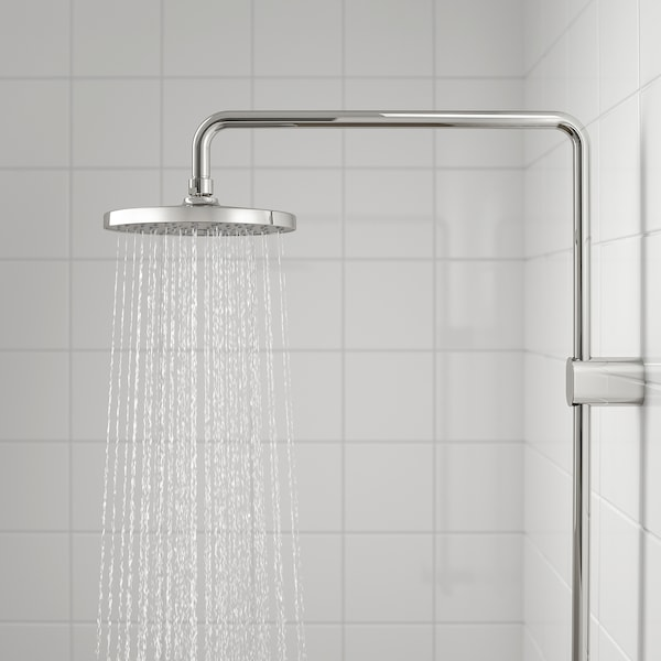 BROGRUND Shower set with thermostatic mixer, chrome-plated