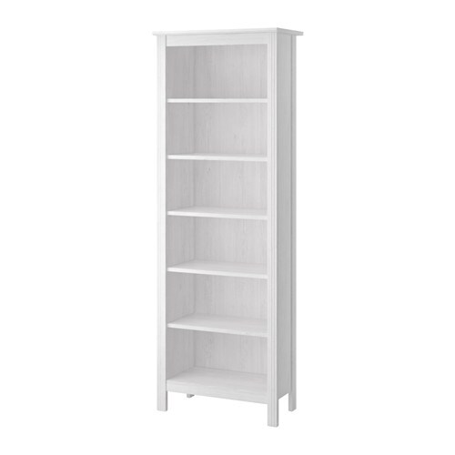 BRUSALI Bookcase White 67x190 Cm IKEA
