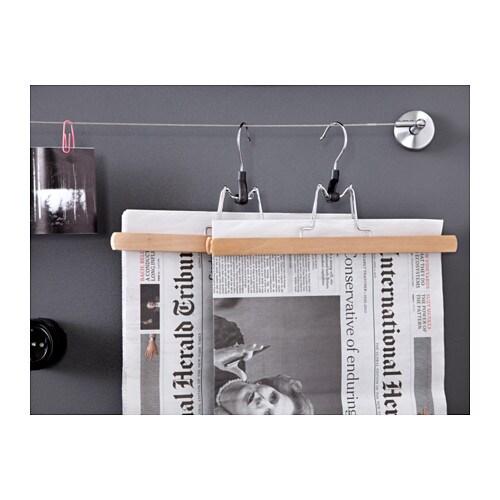 bumerang trouser hanger natural ikea. Black Bedroom Furniture Sets. Home Design Ideas
