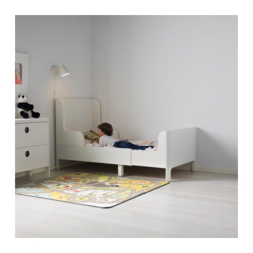 Hemnes Ikea Vitrinenschrank ~ IKEA BUSUNGE extendable bed Extendable, so it can be pulled out as