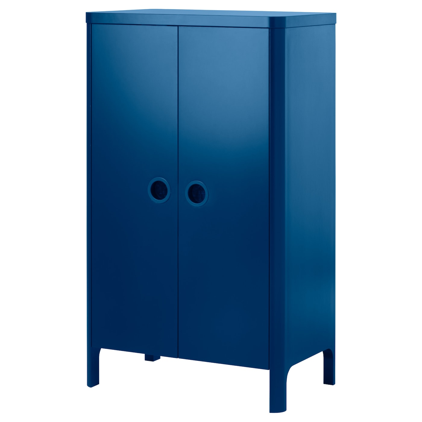 IKEA BUSUNGE wardrobe You can adjust the height of the clothes rail and shelves as your child grows.