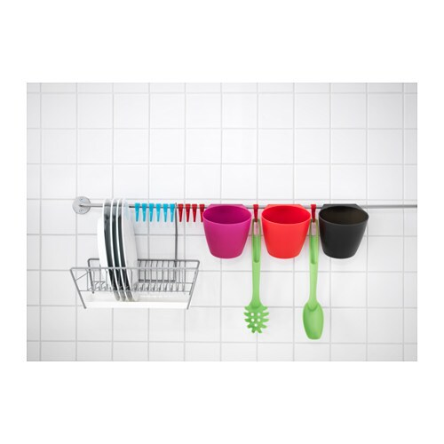 Bygel Container Assorted Colours 13x12x13 Cm Ikea