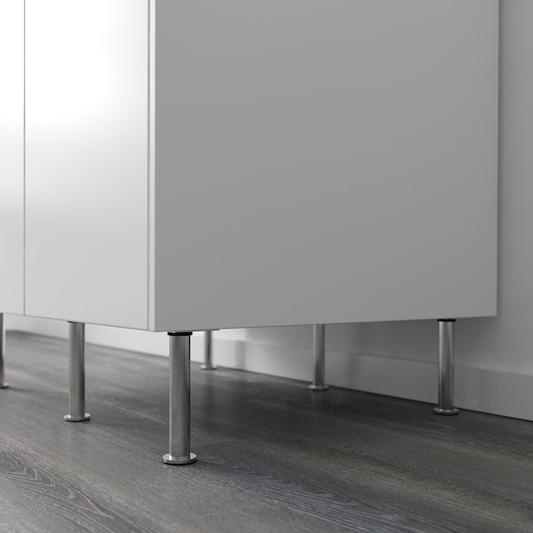 CAPITA Leg, stainless steel, 16 cm