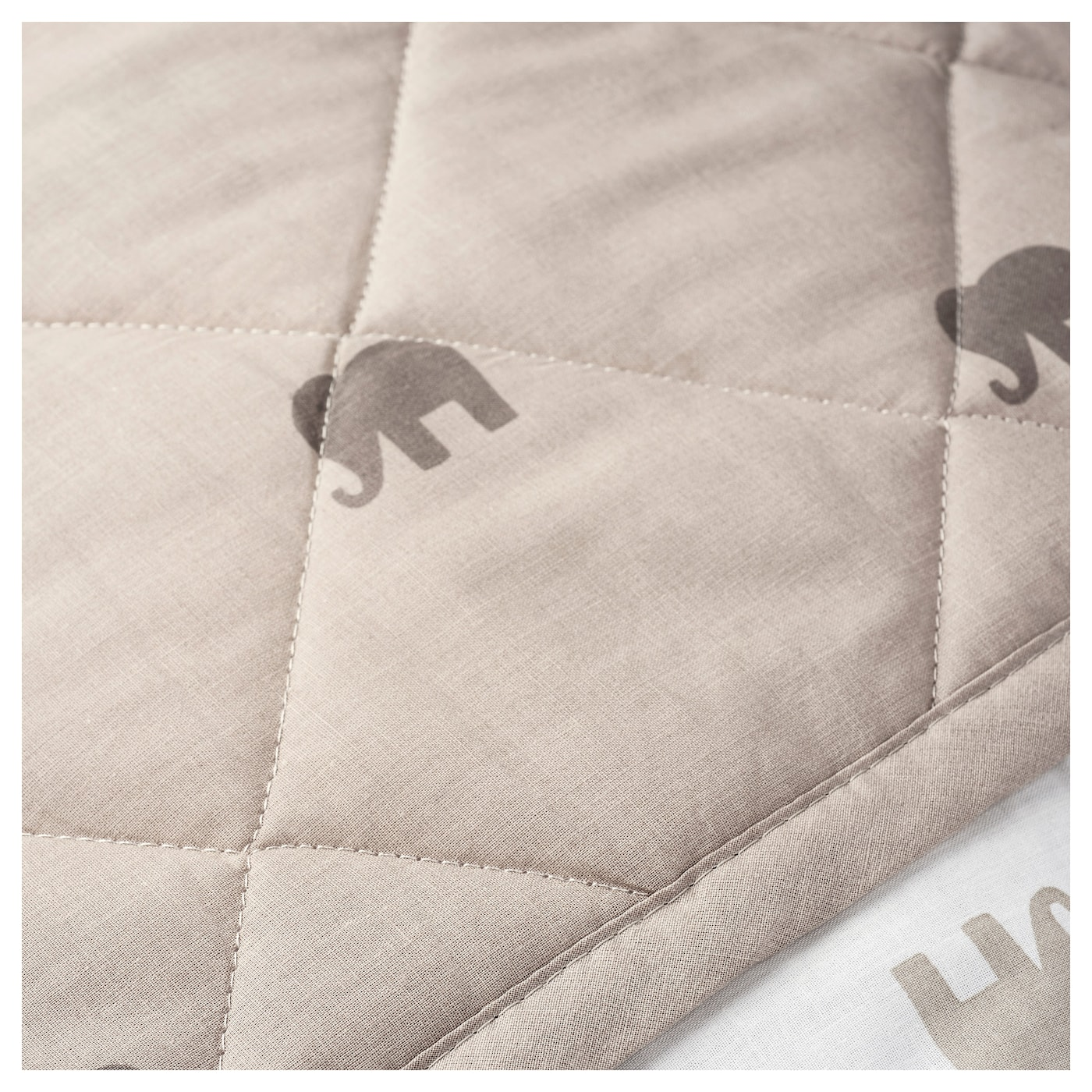 IKEA CHARMTROLL quilt/blanket Cotton, soft and nice to baby skin.