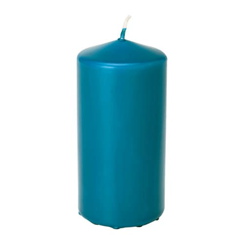 IKEA DAGLIGEN unscented block candle