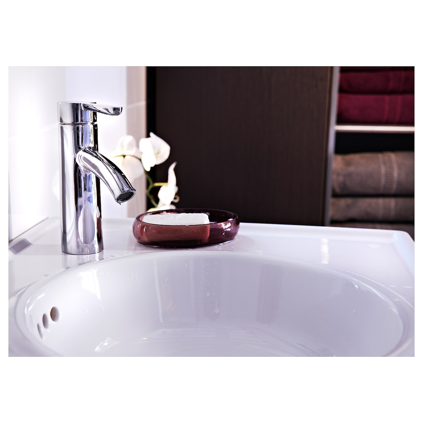 IKEA DALSKÄR wash-basin mixer tap with strainer