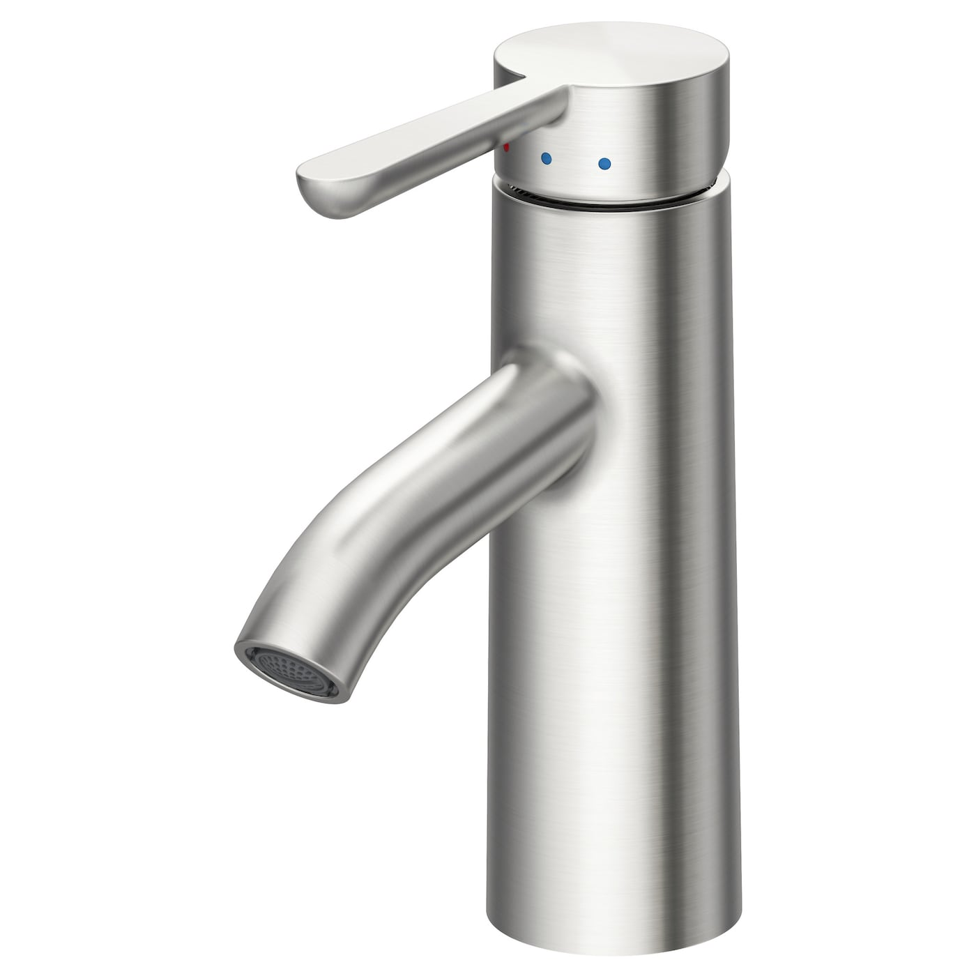 Dalsk r wash basin mixer tap with strainer stainless steel for Robinet salle de bain ikea