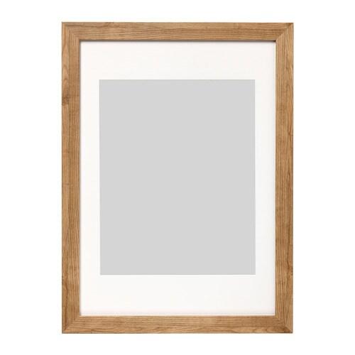 DALSKÄRR Frame Wood effect/light brown 50 x 70 cm - IKEA