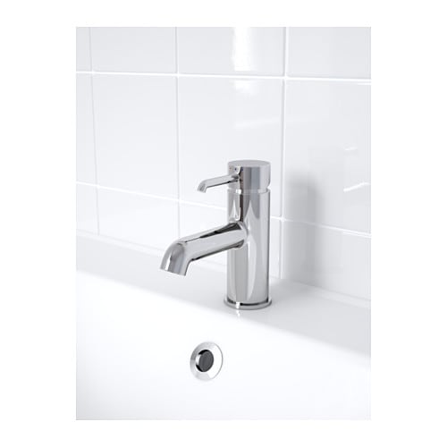 dannsk r wash basin mixer tap with strainer chrome plated