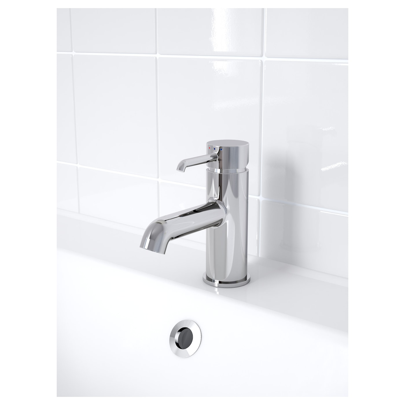 IKEA DANNSKÄR wash-basin mixer tap with strainer