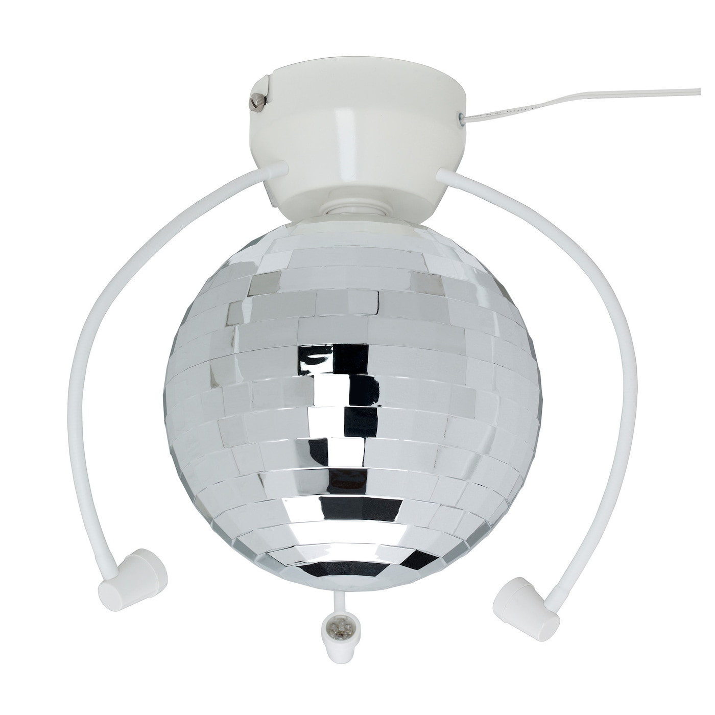 IKEA DANSA disco ball with LED lighting