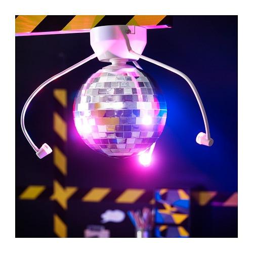 dansa disco ball with led lighting ikea
