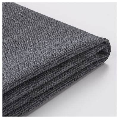DELAKTIG Cover for armrest with cushion, Hillared anthracite