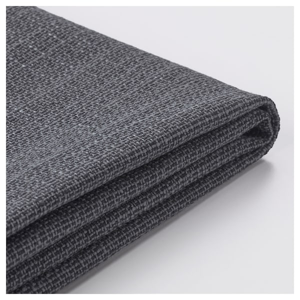 DELAKTIG Cover for seat cushion, 3-seat sofa, Hillared anthracite