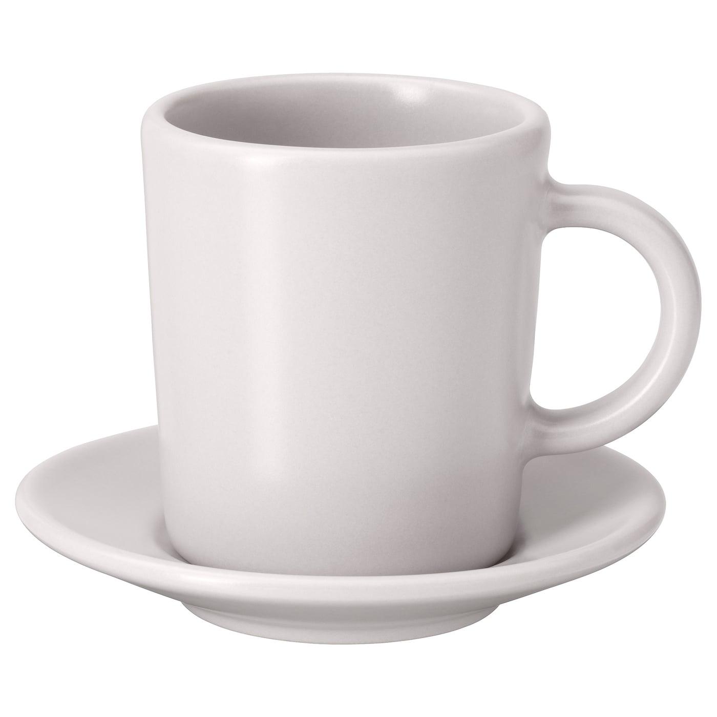 ea6ee1ec7cc IKEA DINERA espresso cup and saucer