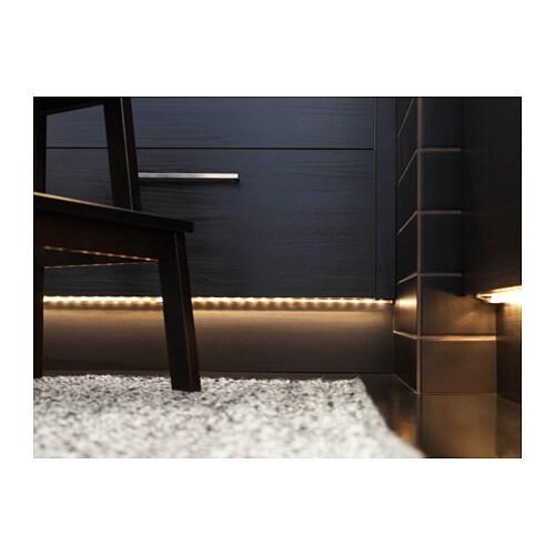 dioder led 4 piece lighting strip set white ikea. Black Bedroom Furniture Sets. Home Design Ideas