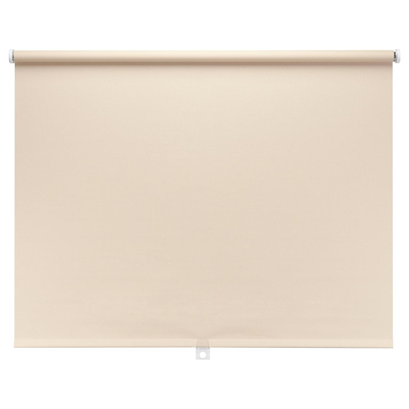 diskodans block out roller blind sand 100x195 cm ikea. Black Bedroom Furniture Sets. Home Design Ideas