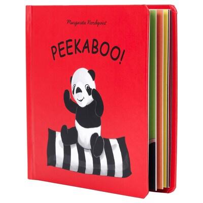 DJUNGELSKOG picture book Peekaboo! 14.6 cm 14.7 cm
