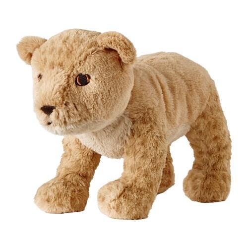 DJUNGELSKOG Soft toy. Lion cub