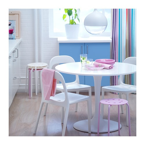 Docksta table white 105 cm ikea - Table pour cuisine ikea ...
