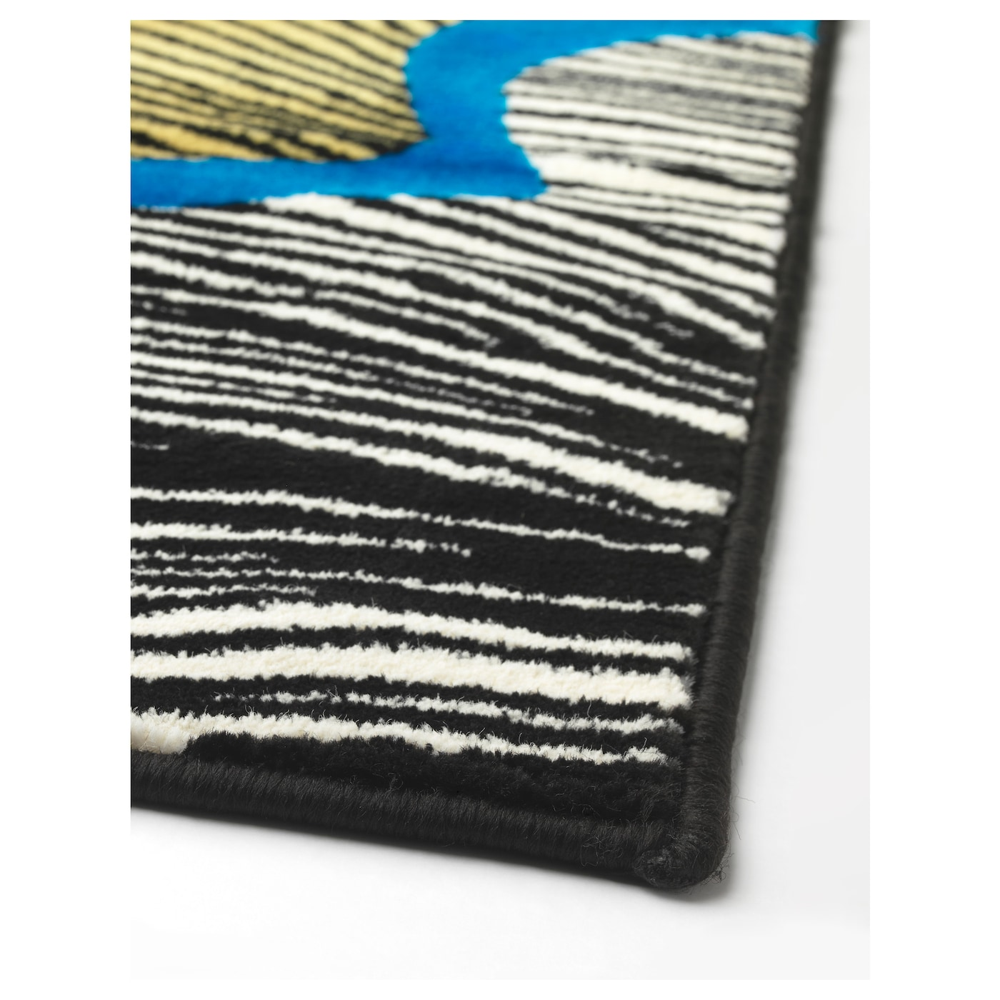 IKEA DOFTRANKA rug, low pile The thick pile dampens sound and provides a soft surface to walk on.