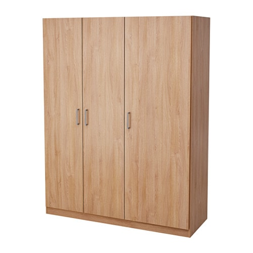 DOMBS Wardrobe Oak Effect 140x181 Cm IKEA