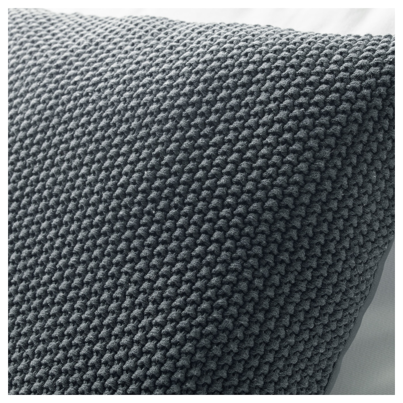 IKEA DORTHE cushion The duck feather filling feels fluffy and gives your body excellent support.