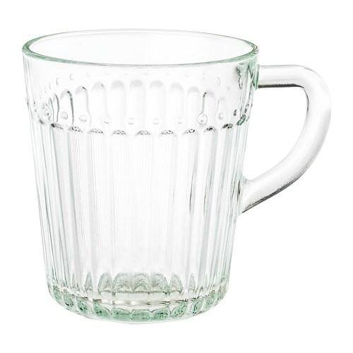 Drömbild Mug Clear Glass 25 Cl Ikea