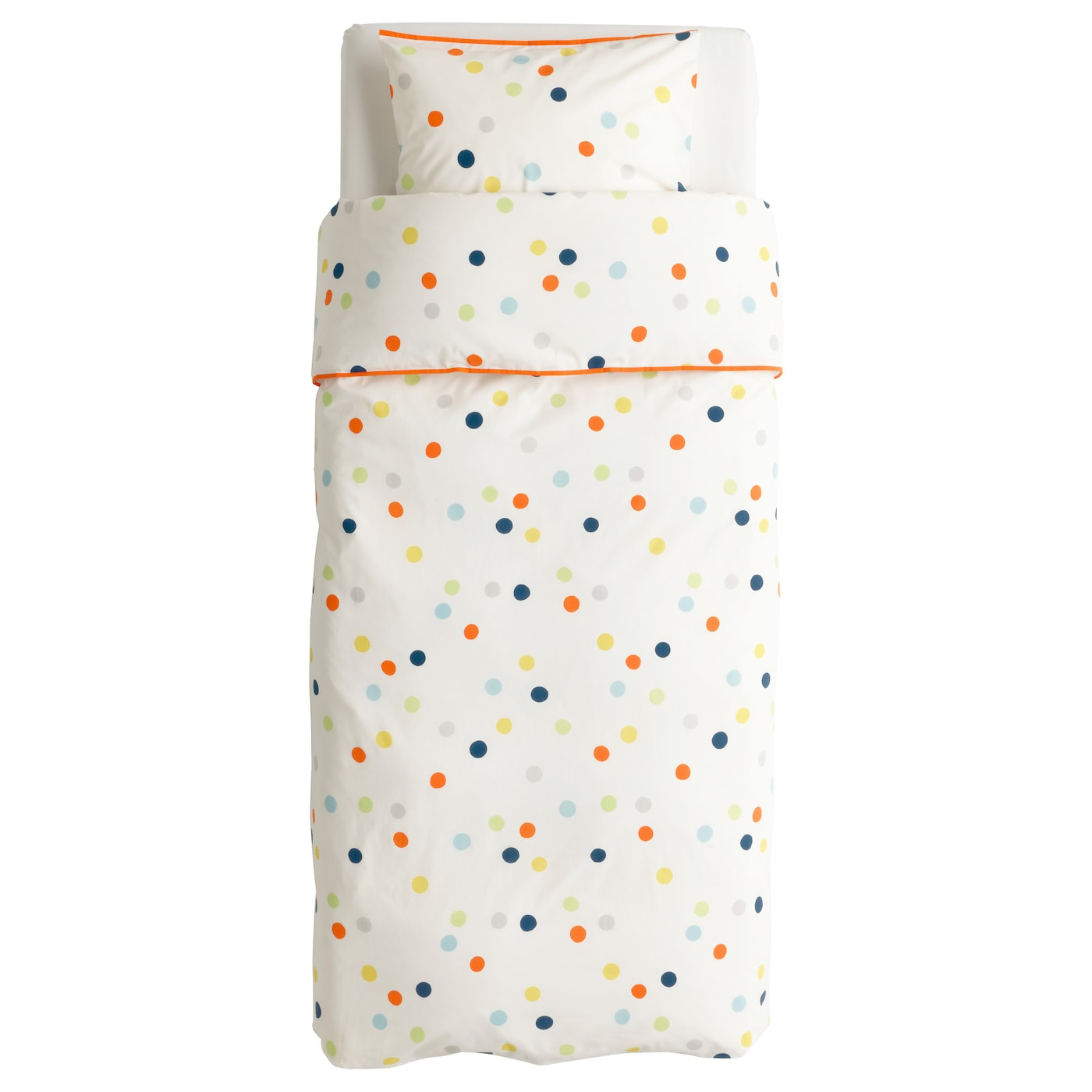 Baby Bettwäsche Ikea drömland quilt cover and pillowcase multicolour 150x200 50x80 cm ikea