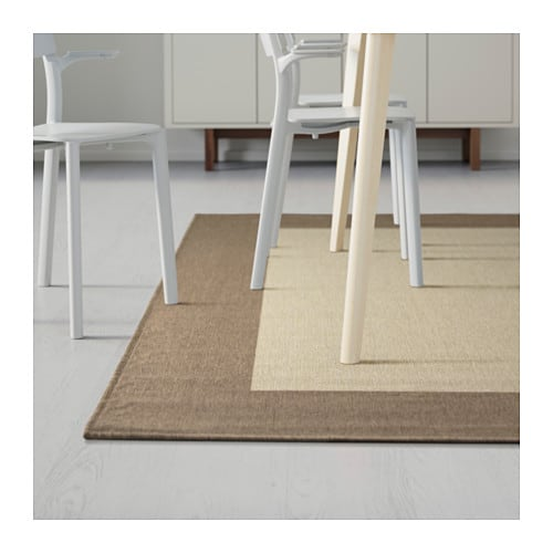 drag r rug flatwoven beige light brown 170x240 cm ikea. Black Bedroom Furniture Sets. Home Design Ideas