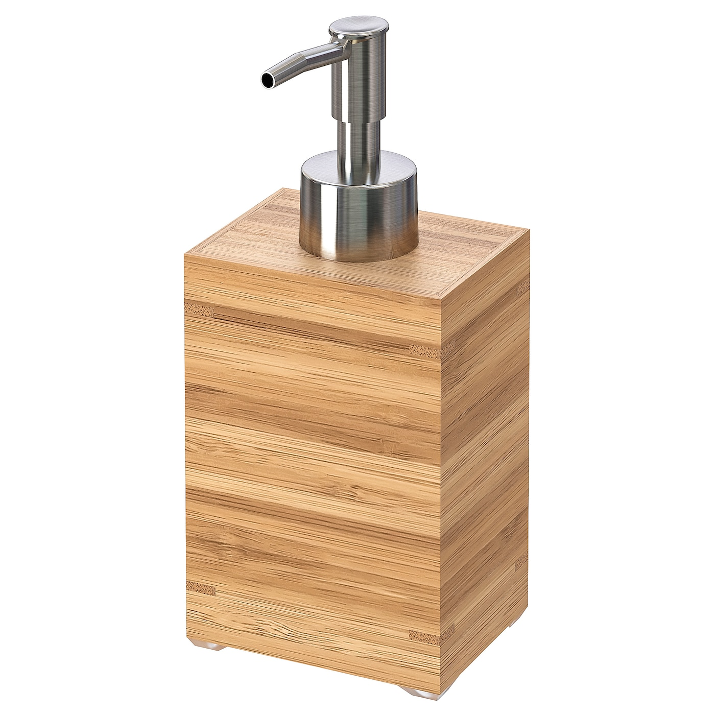 IKEA DRAGAN soap dispenser Bamboo is a hardwearing natural material.